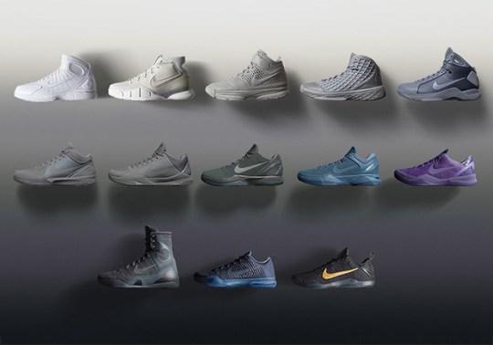 "The Nike Kobe ""Fade To Black"" Pack Restocking On Kobe Bryant Day"