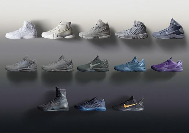 "quality design 03564 42474 The Nike Kobe ""Fade To Black"" Pack Restocking On Kobe Bryant Day"