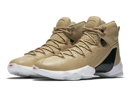 "The Nike LeBron 13 Elite ""Linen"" Releases In September"