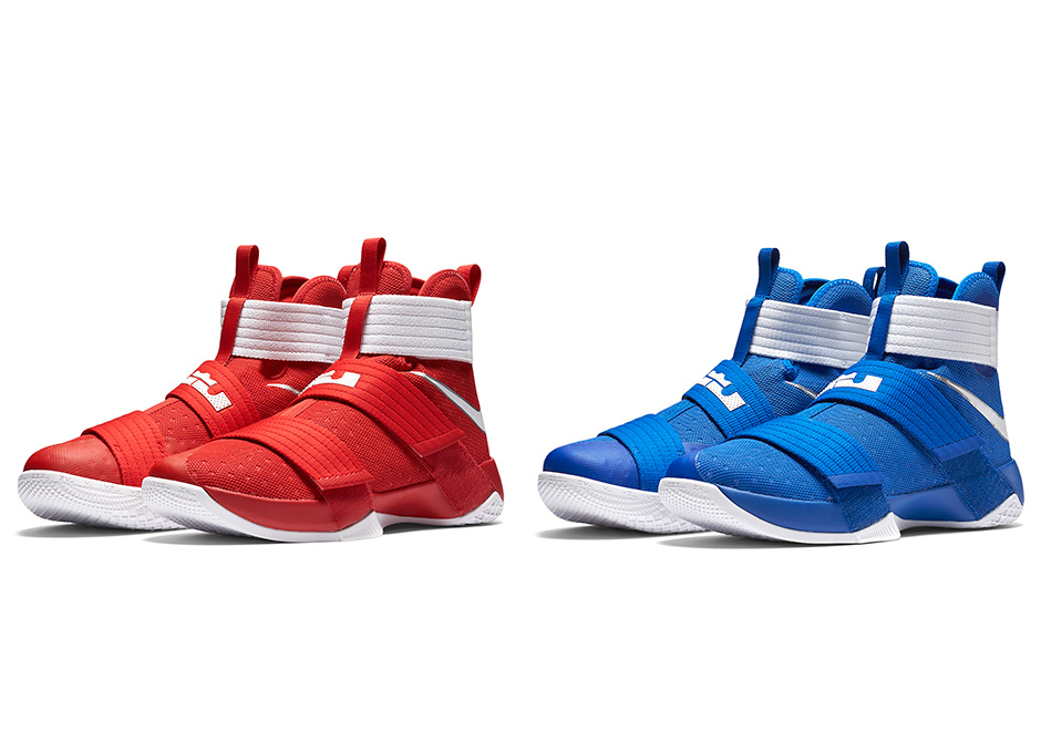 reputable site f619c 3fba7 LeBron Shows Love To Ohio State And Kentucky With Soldier 10