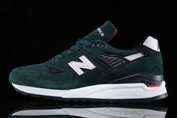 "separation shoes f0dcf da50a New Balance 998 ""Age of Exploration"". Color Dark Green Navy"