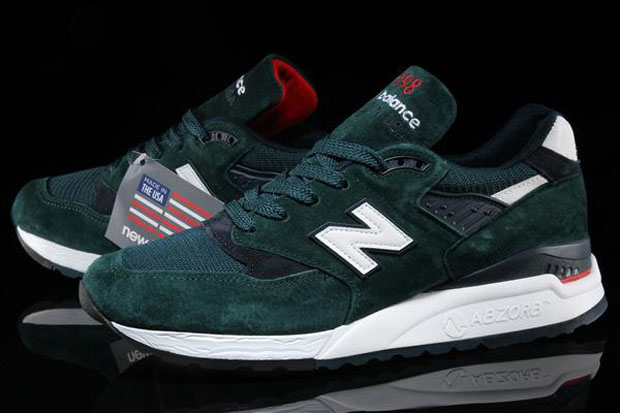 New Balance 998 Age of Exploration Dark Teal | SneakerNews.com