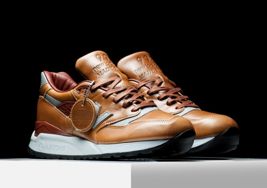 The Uber-Pricey New Balance Horween Collection Is Back With Two Options