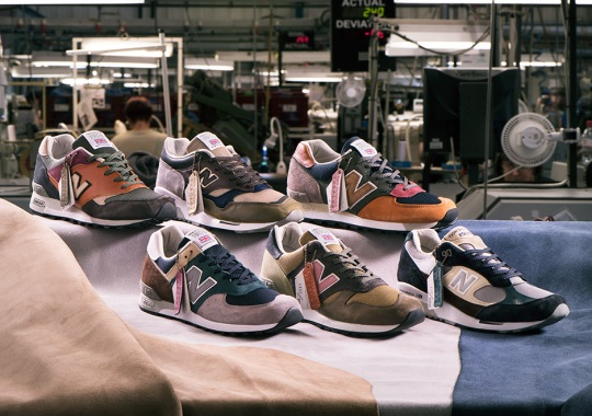 New Balance Celebrates 110th Birthday With Limited Edition MiUK Surplus Pack