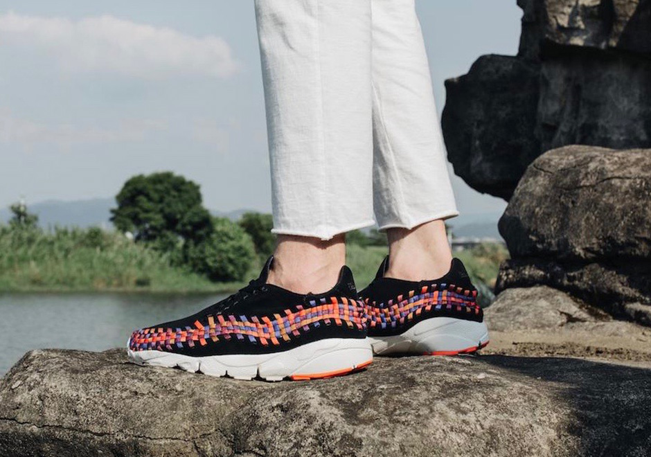 Nike Footscape Rainbow On-Feet Preview | SneakerNews.com