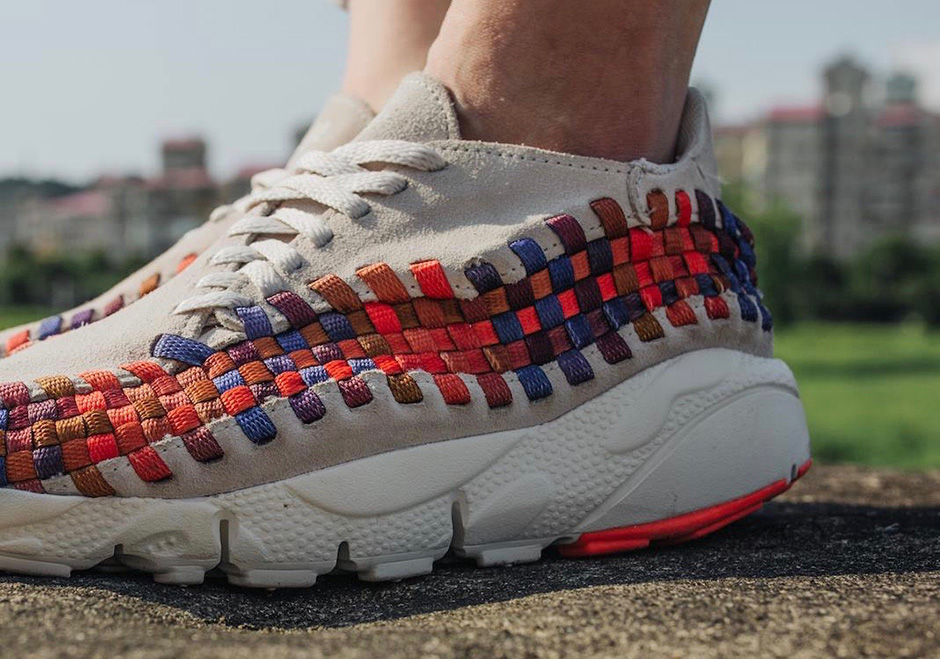 best website 30cc7 fdec4 Nike Footscape Rainbow On-Feet Preview   SneakerNews.com