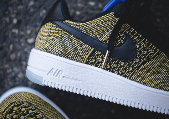 Nike Air Force 1 Flyknits For Warriors Fans