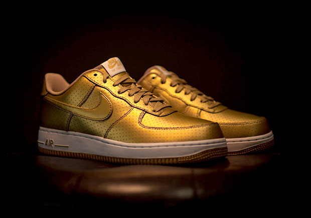 Nike Air Force 1 Low Metallic Gold |