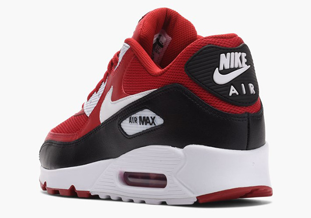 air max 90 red white and black