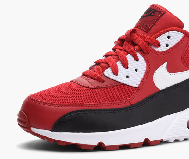 watch 405d2 97fc3 czech nike mens air max 90 anniversary black red white 725235 006 size  36b37 590f2  spain nike air max 90 essential. color gym red white black  style code ...