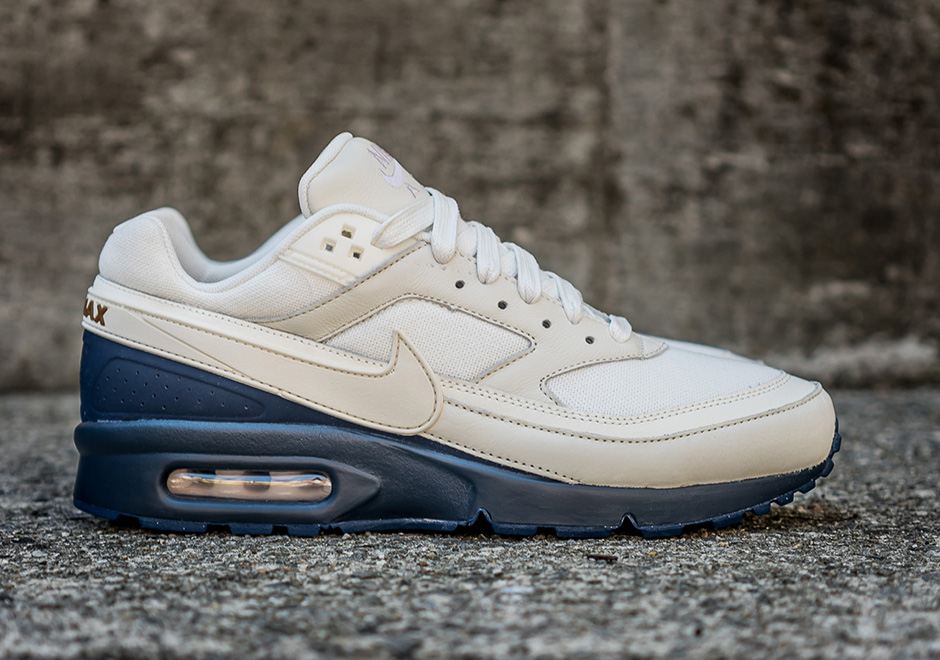 official photos 66b9f 55e67 Nike Air Max BW PRM. Color SailMidnight NavyAle Brown Style Code  819523-104. Price 120