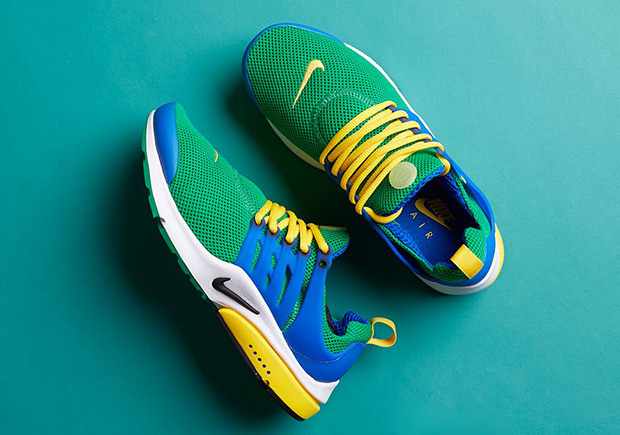 huge discount 83642 c6e7e The Nike Air Presto Is Available In Classic Brazil Colors