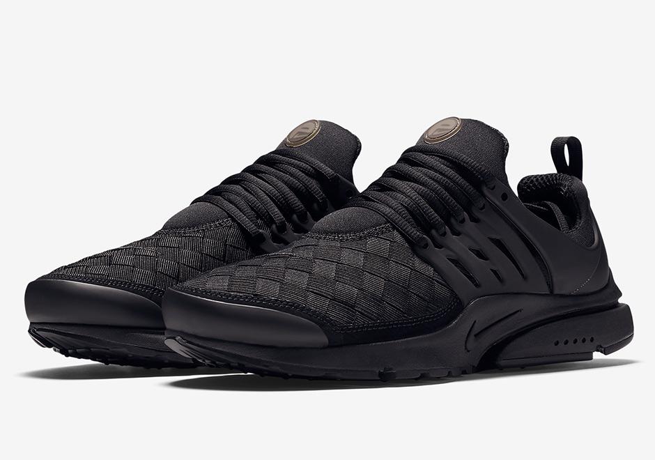 e0098a64a561 Nike Air Presto Woven Triple Black 848186-001