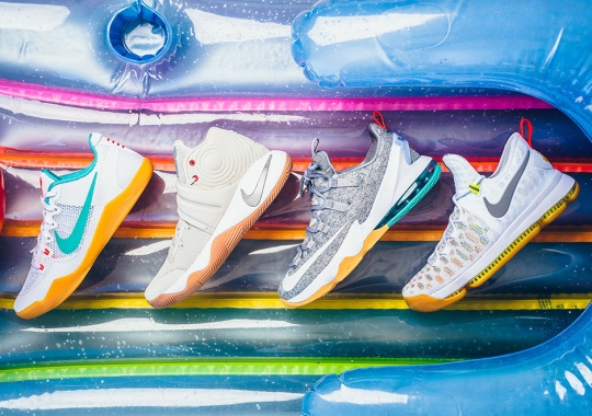 "Nike To Release All Four Signature Shoes In ""Summer"" Theme Tomorrow"