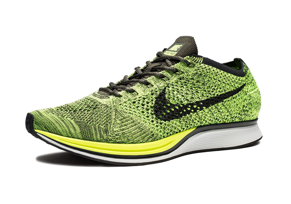 The Nike Flyknit Racer Returns In Volt