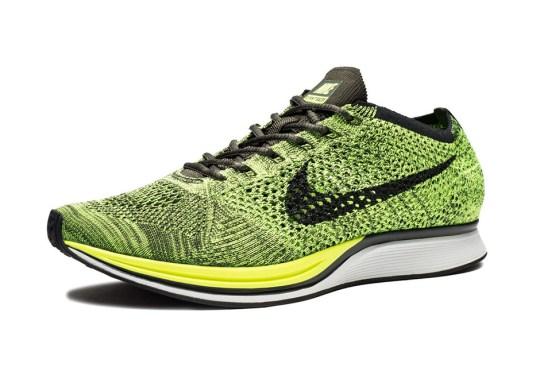 The Nike Flyknit Racer Returns In Volt