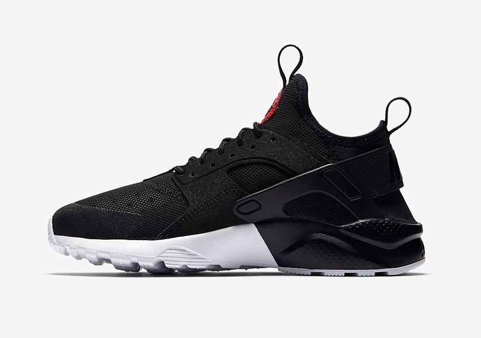 Nike Svart-hvitt Luft Huarache Ultra Joggesko Nyheter 5kMTgwg7dV