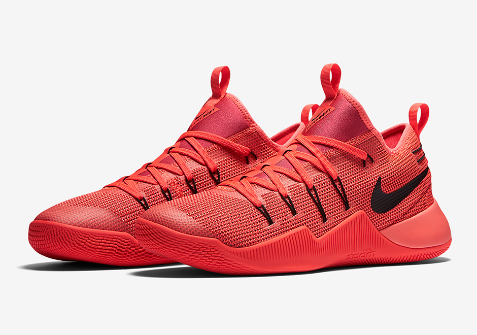 Bright Red Nike Basketball Shoes
