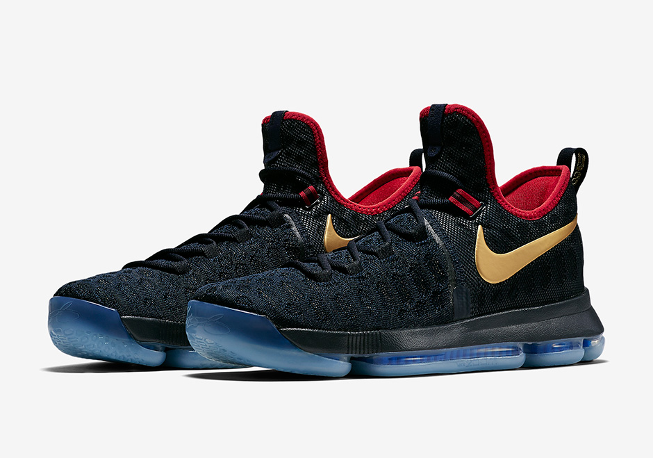 """Team USA Leader Kevin Durant Has """"Gold Medal"""" Nike KD 9 Shoes Ready"""
