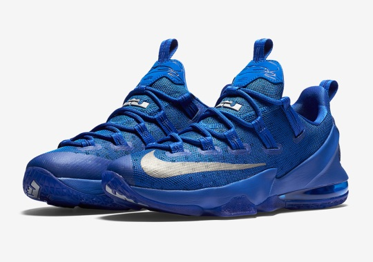 "Nike LeBron 13 Lows In ""Kentucky"" Colors Are Here"