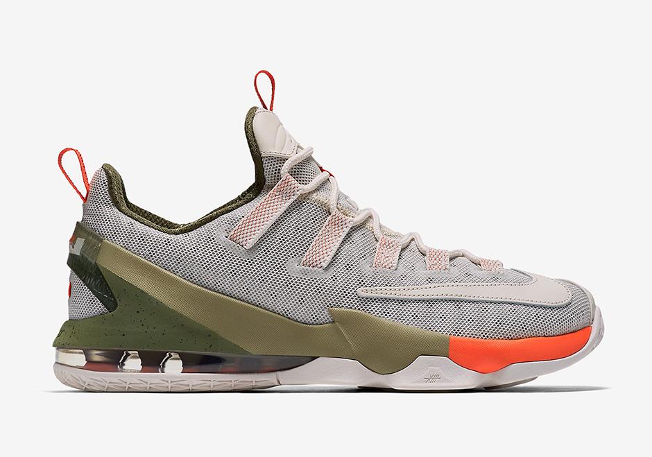 meet ba177 faf73 Nike Lebron 13 Low PRM 849783-002 | SneakerNews.com