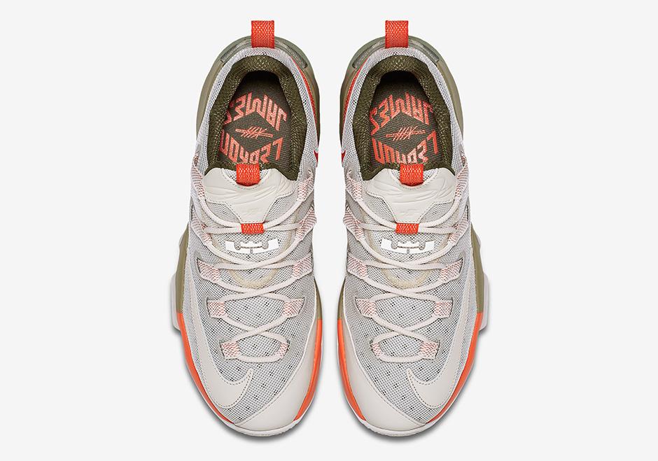 meet 2b2d9 760db Nike Lebron 13 Low PRM 849783-002 | SneakerNews.com