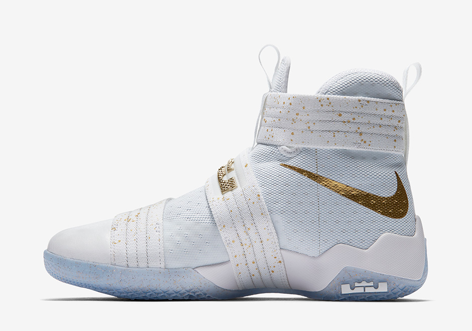 34558bb26a940 Nike LeBron Soldier 10 Gold Medal Release Date