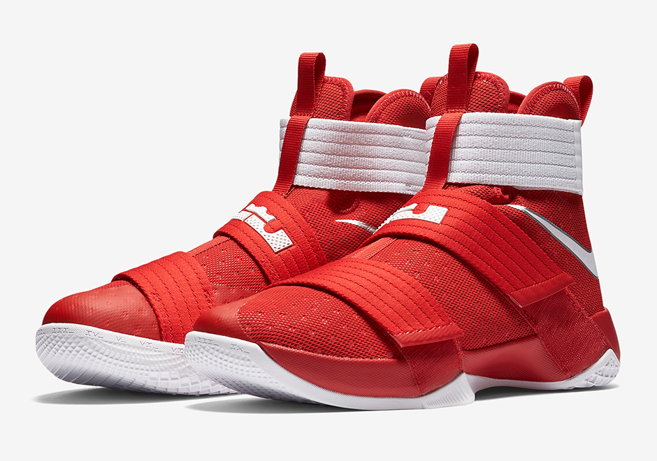 competitive price 9d490 e5202 ireland lebron soldier 10 white and red dragon ab432 3493e