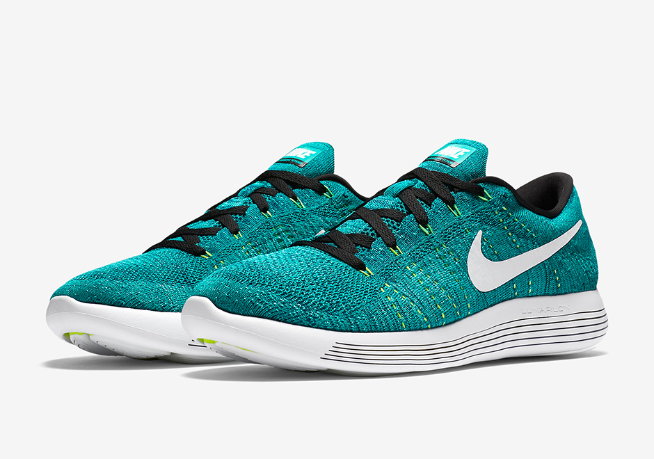 Nike LunarEpic Flyknit Low Rio Teal 843764-301  8722d30676f9