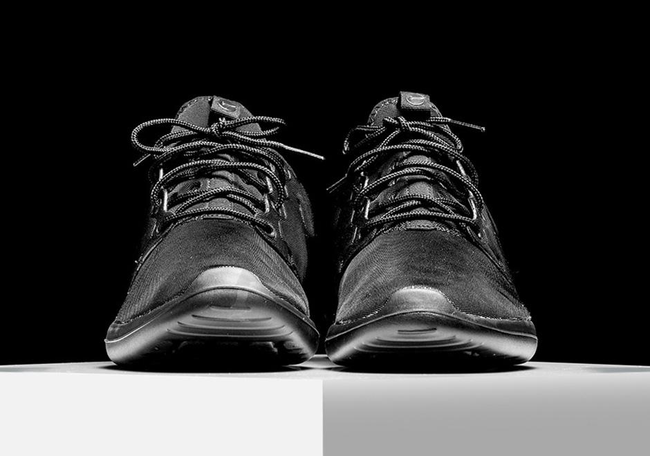 b9e7c360c181 Nike Roshe Two Triple Black 844656-001