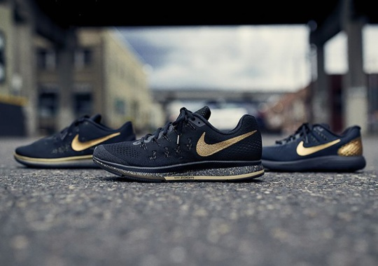 Black And Gold Anchors Nike Running's Latest Collection