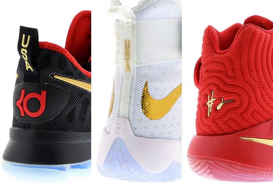 best website 631cb a67bf Nike Basketball USA Gold Swoosh Pack   SneakerNews.com