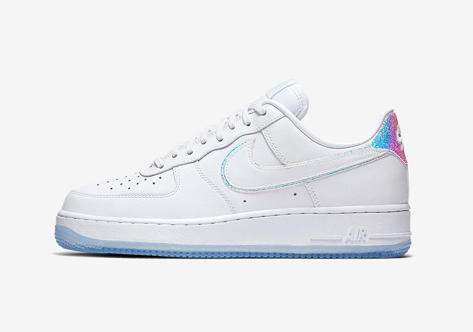 """the latest 5d18e a2f0b The women s Air Force 1 """"Iridescent"""" pack arrives at select Nike Sportswear  retailers and the Nike SNKRS app on September 1st."""