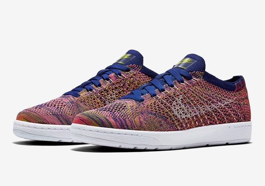 More Multi-Color Styling On The Nike Tennis Classic Flyknit