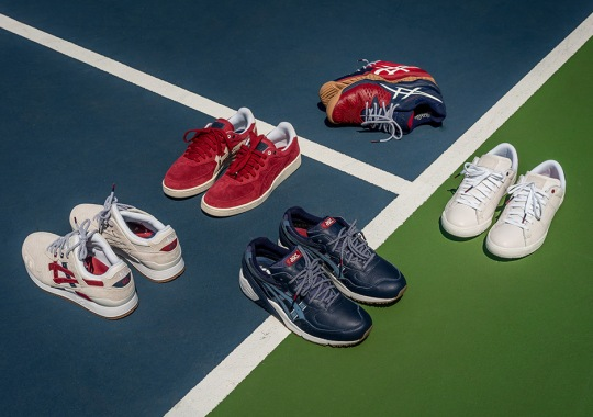 Packer Shoes Designed Five ASICS Shoes For The U.S. Open