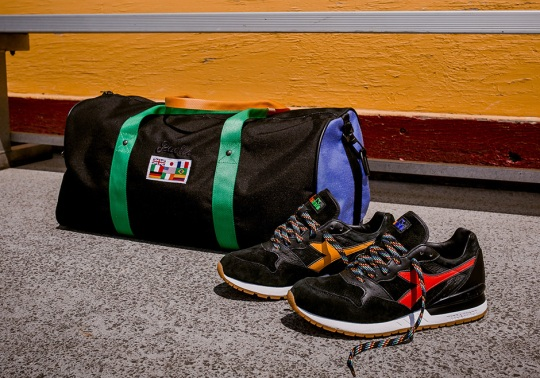 "Diadora's ""From Seoul To Rio"" Campaign Continues With Packer Shoes Collaboration"