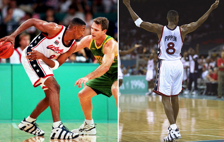 sale retailer c2c83 04706 Sneakers of USA Dream Team 1996 Complete History   SneakerNews.com