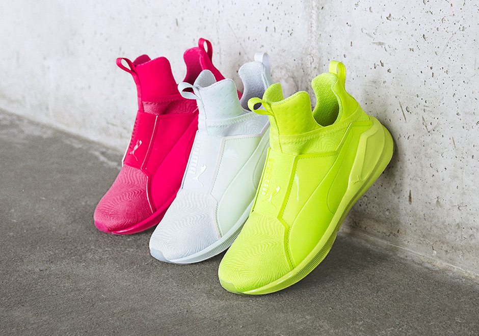 Puma s non-Fenty footwear has been a hit for the ladies as well. The Fierce  silhouette 37da2b59e