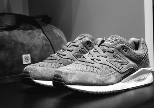 Reigning Champs Brings Tonal Suede To The New Balance M530
