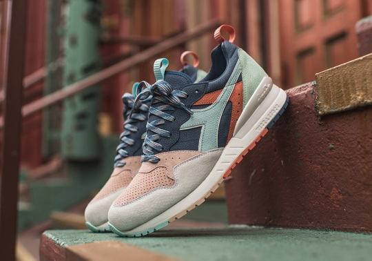 "KITH Joins The Diadora ""Seoul To Rio"" Collection With The Intrepid"