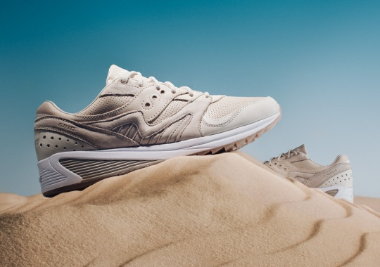 """The Saucony Grid 8000 Heats Up With a """"Desert"""" Colorway"""