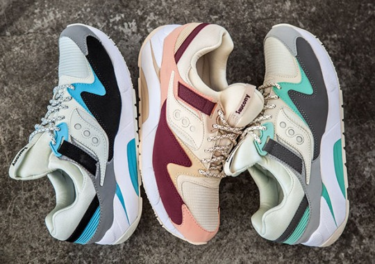 Three Colorful New Saucony Grid 9000 Options Close Out Summer