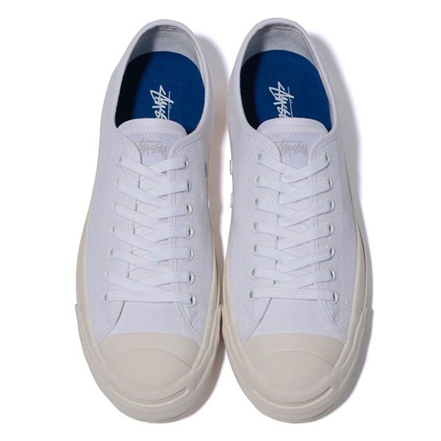 converse jack purcell x stussy