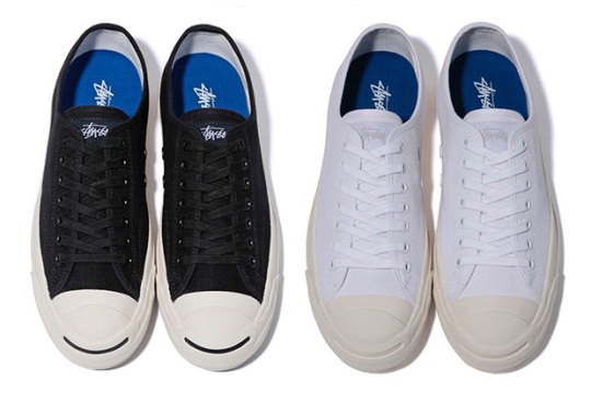 Stussy And Converse To Release Two Jack Purcell Colorways