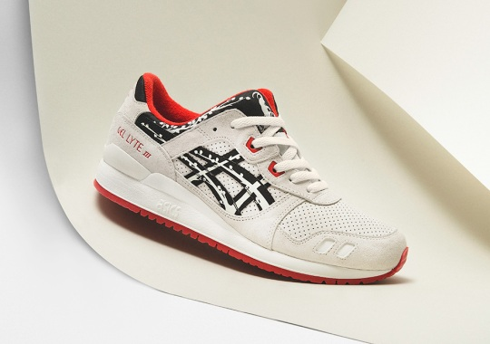 """Titolo Celebrates 20th Anniversary By Auctioning Off A Special """"Albino"""" Edition Of Their ASICS Collaboration"""
