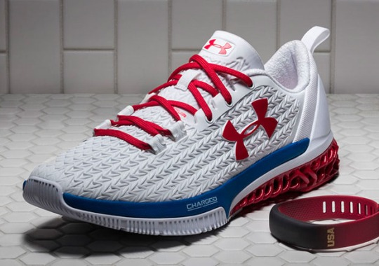Under Armour Gave Michael Phelps Their 3-D Printed Architech Shoe For Rio Olympics