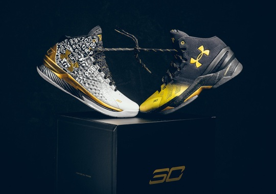 Steph Curry Celebrates Back-To-Back MVP Trophies With Limited Edition Pack