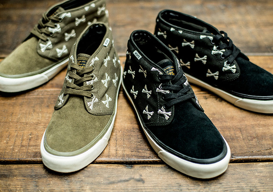 "7d41af97e4bfdf WTAPS and Vans Collaborate Again With a Return of the ""Bones"" Motif"