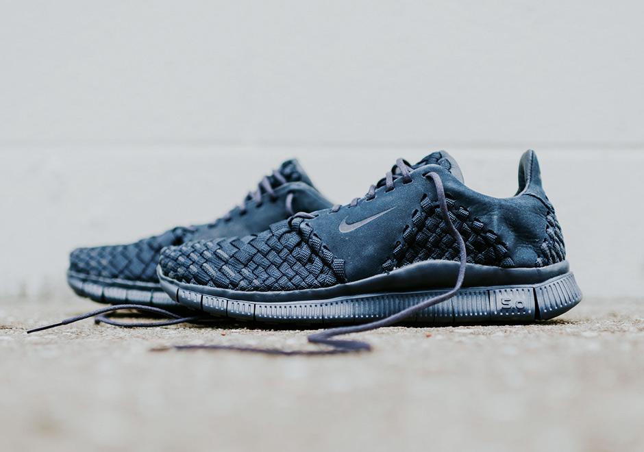 brand new da9dc faca3 Nike Free Inneva Woven II Obsidian 845014-400   SneakerNews.com
