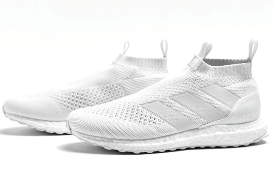 """adidas ACE16+ Ultra Boost """"Triple White"""" Releases Tomorrow"""